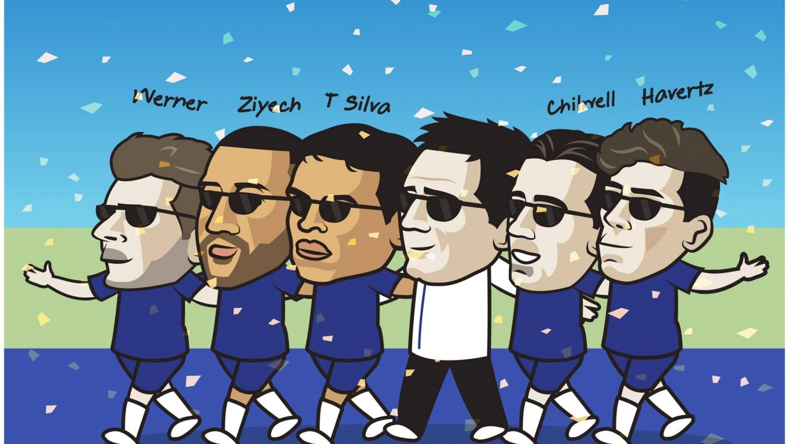 """Biếm họa 24h: Chelsea """"phá đảo"""" thị trường chuyển nhượng hè 2020"""