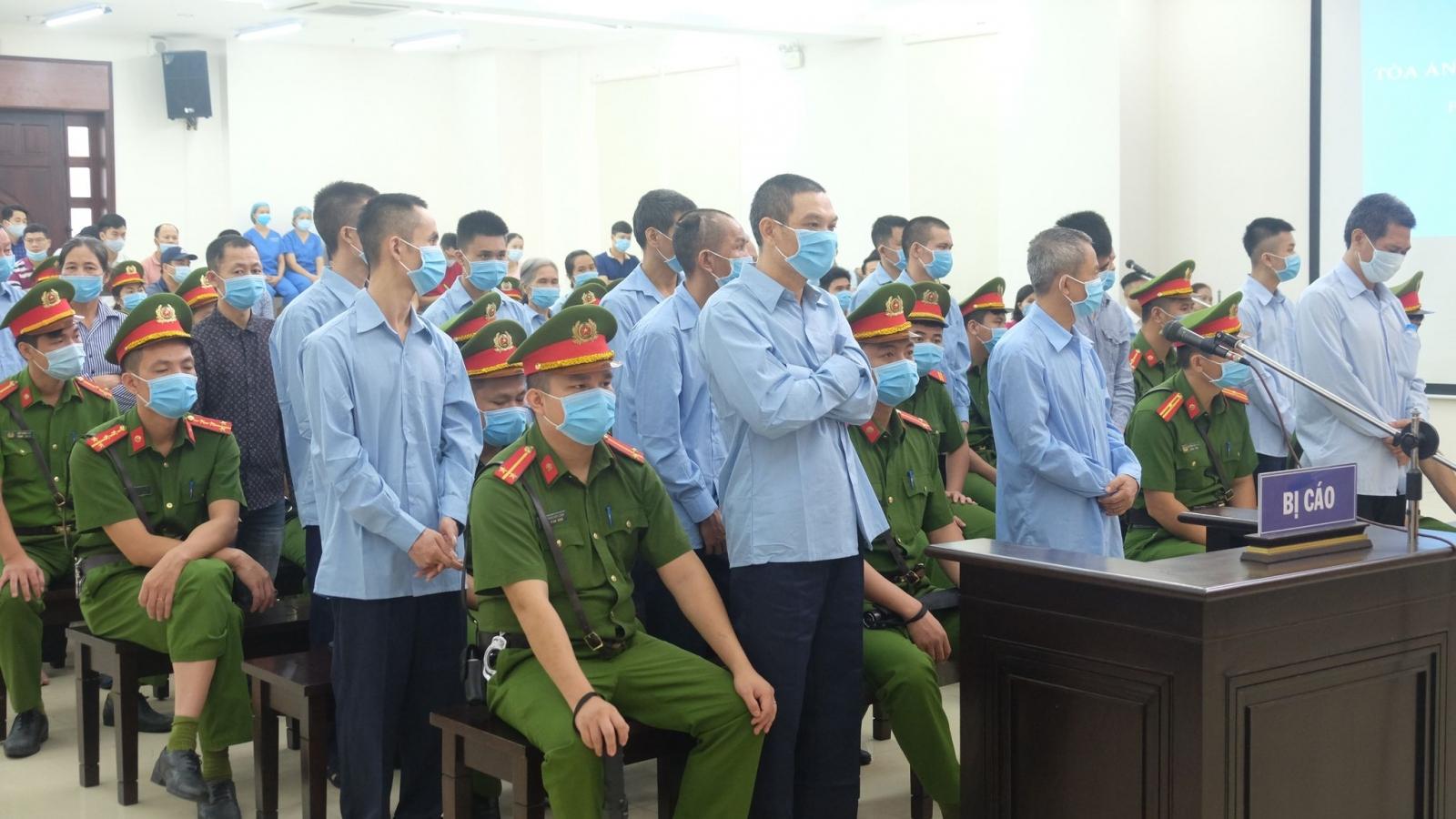 Vụ án giết người ở Đồng Tâm: 2 án Tử hình, 14 bị cáo được trả tự do tại tòa