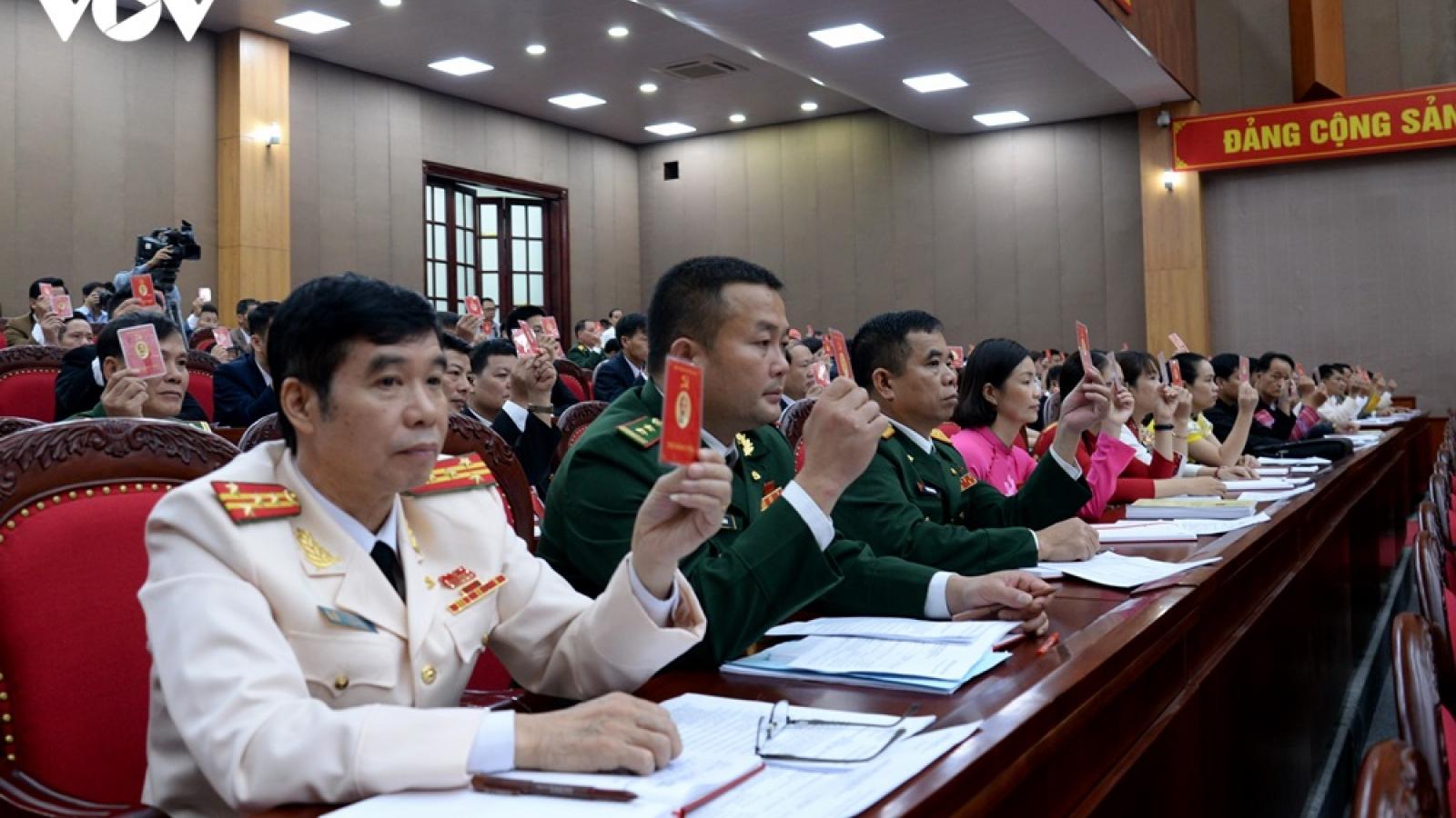 Khai mạc Đại hội Đảng bộ tỉnh Sơn La lần thứ XV