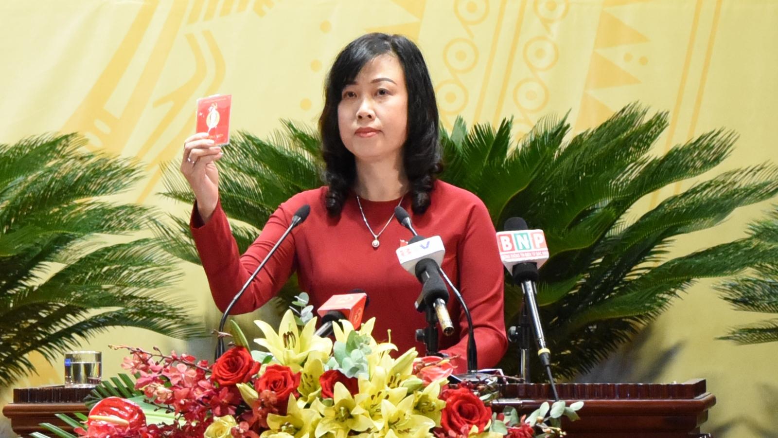 Bà Đào Hồng Lan được bầu giữ chức Bí thư Tỉnh ủy Bắc Ninh nhiệm kỳ 2020-2025