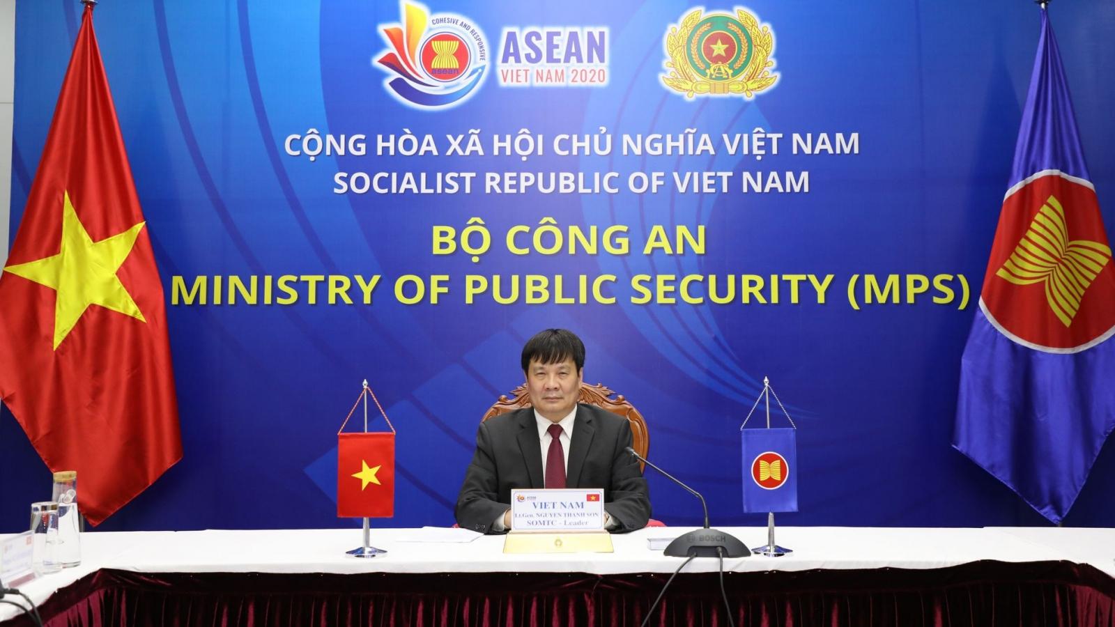 Đẩy mạnh hợp tác phòng chống tội phạm xuyên quốc gia trong ASEAN