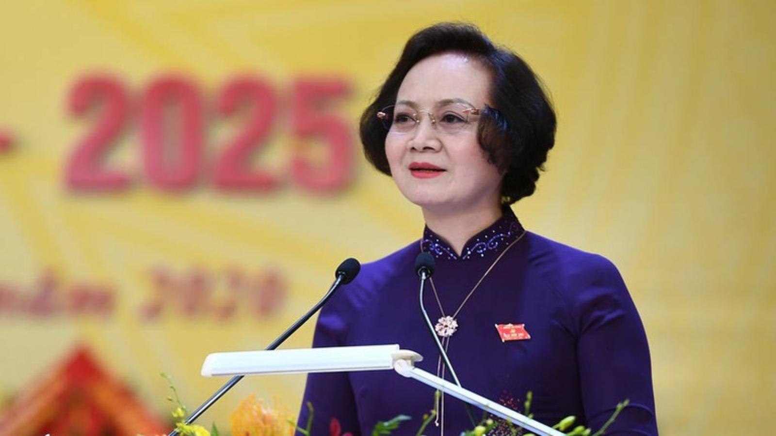Quá trình công tác của bà Phạm Thị Thanh Trà