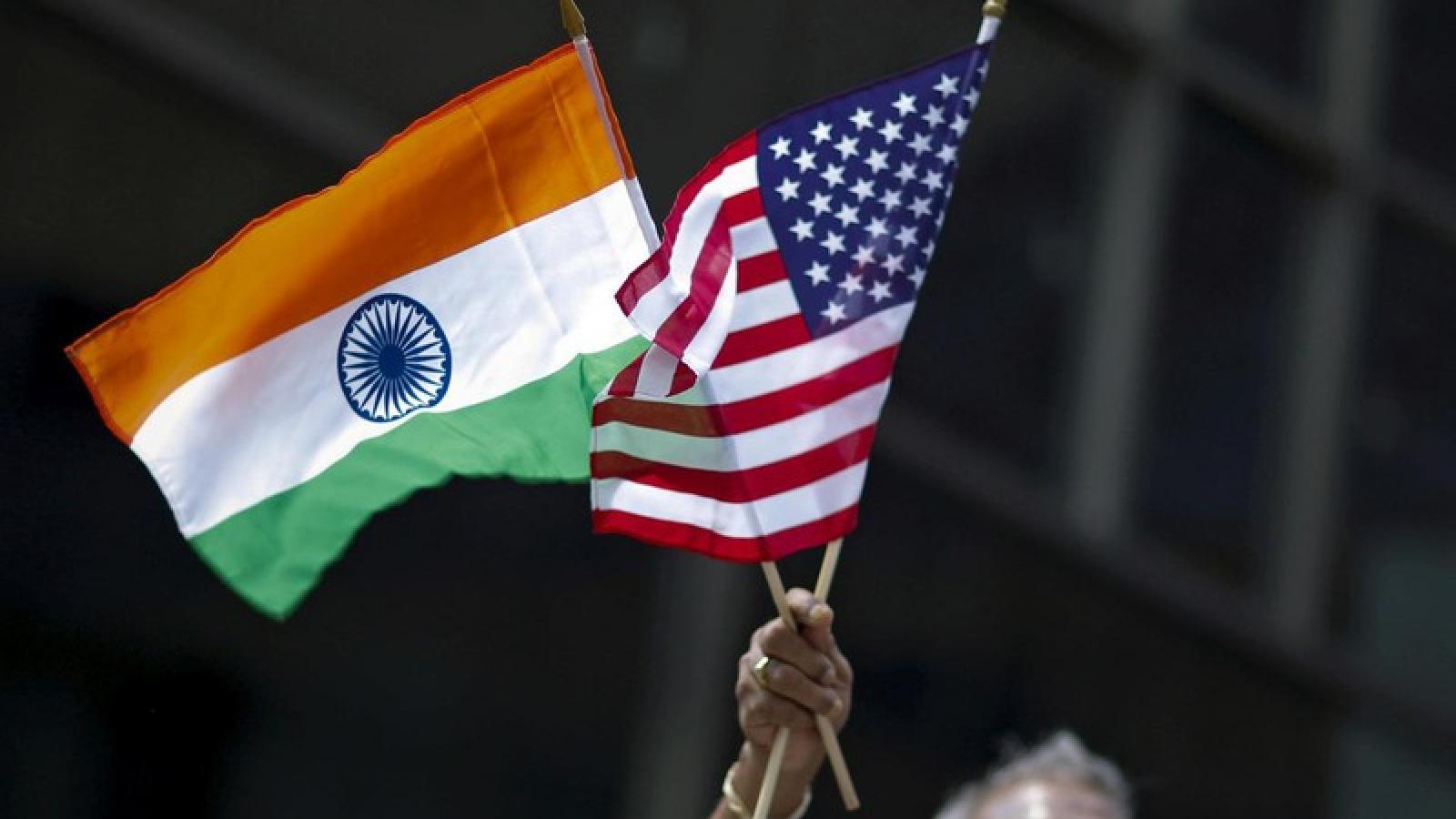 """""""Hội tụ"""" về lợi ích, Mỹ - Ấn xích lại gần nhau """"đấu"""" với Trung Quốc"""