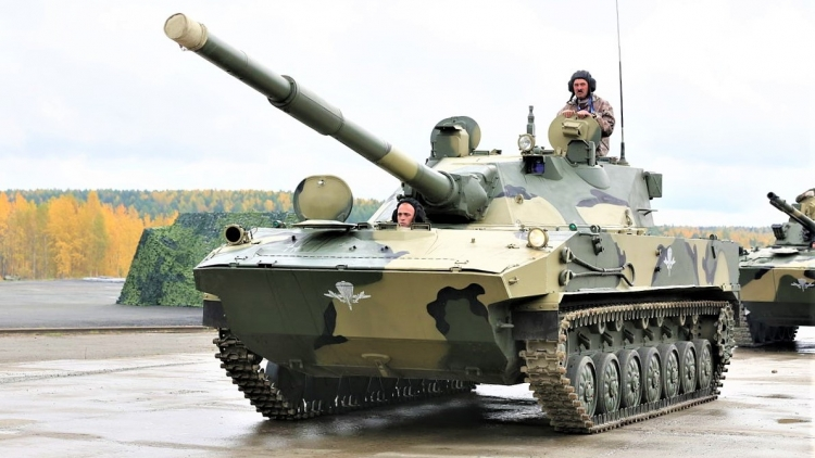 Lộ diện xe tăng hạng nhẹ mới Sprut-SDM1 đầy uy lực của Nga