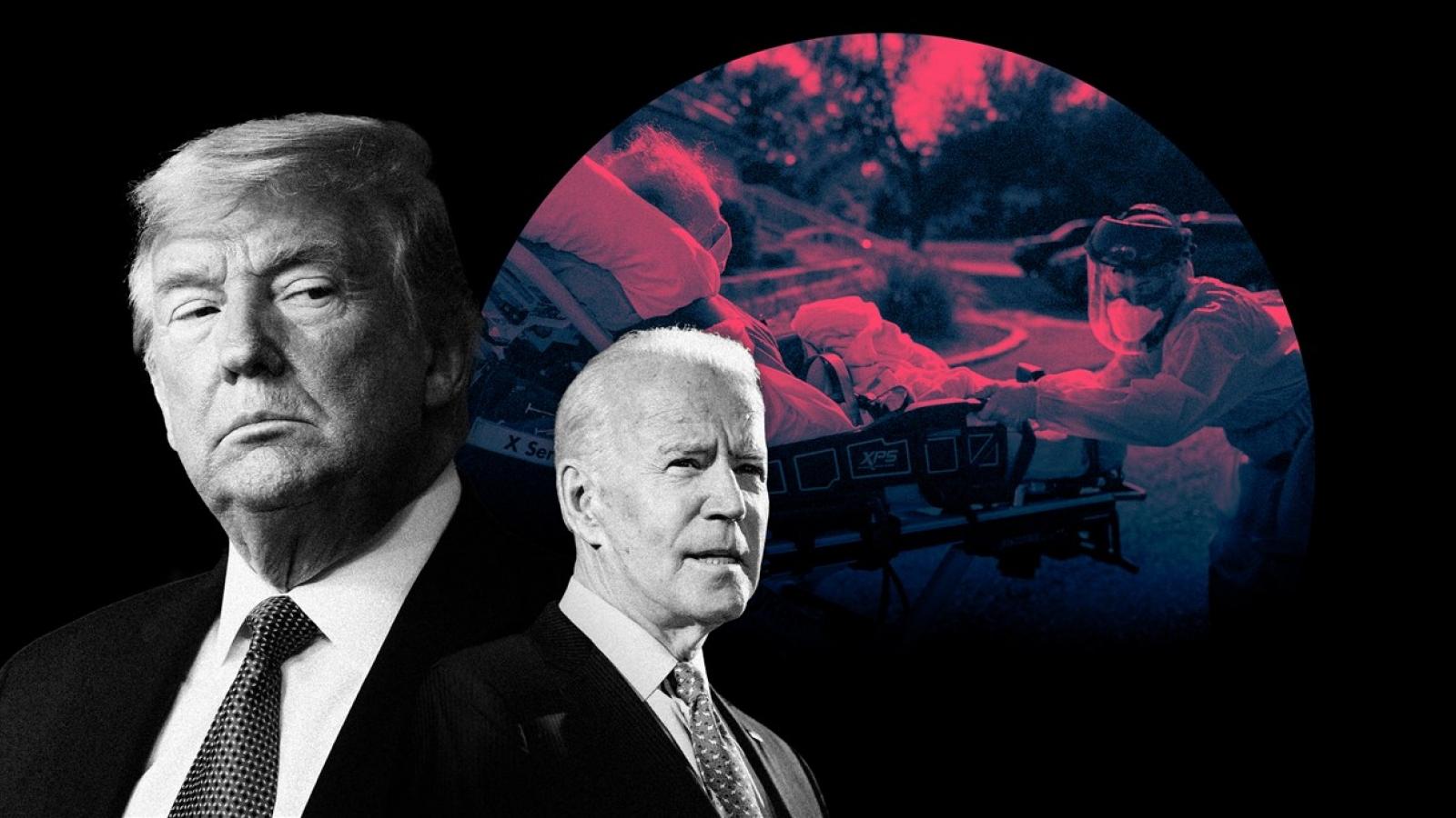 Bầu cử Mỹ: Tổng thống Trump gặp khó với cử tri cao tuổi do Covid-19
