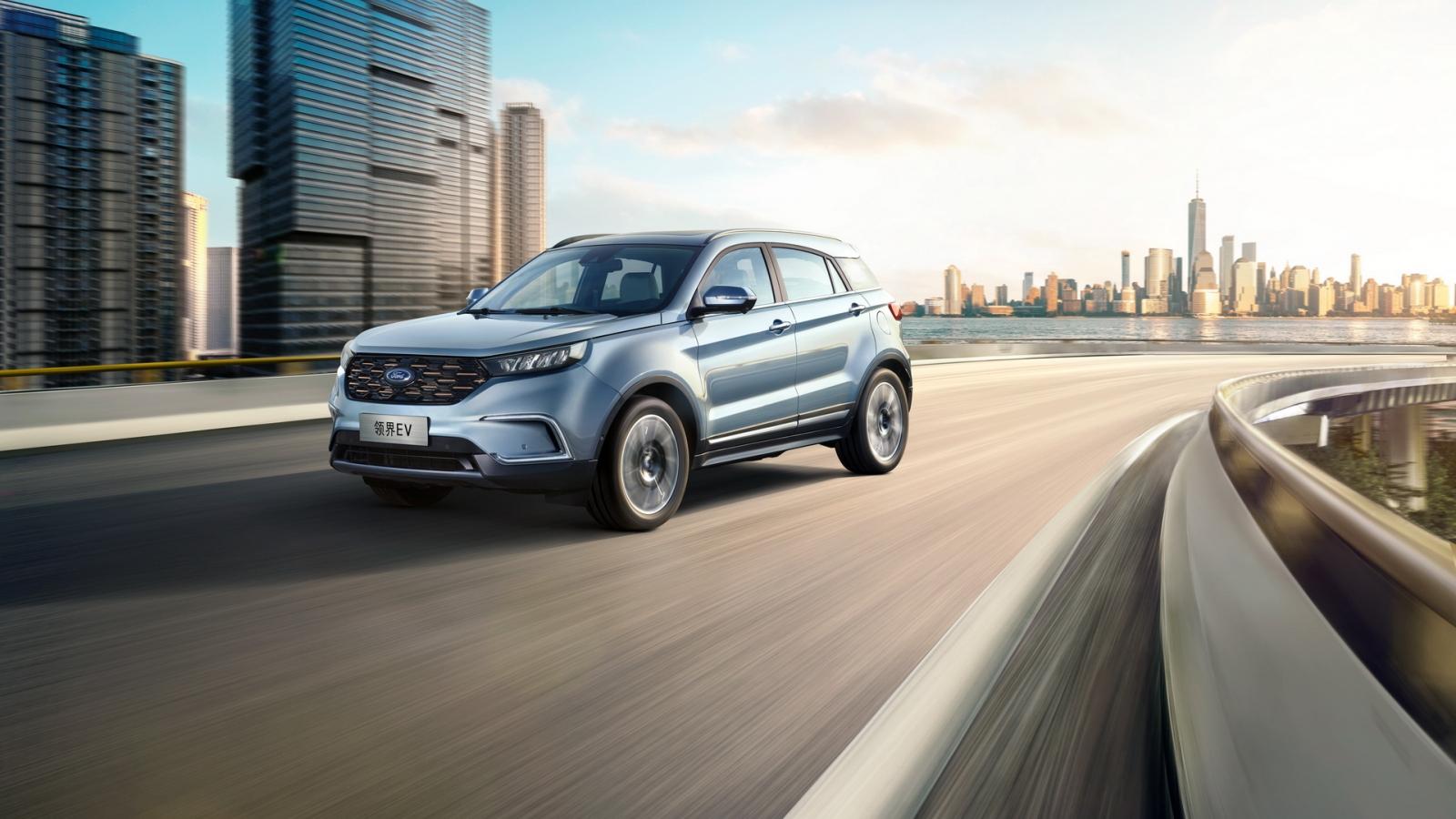 Ford Territory EV 2020 được trang bị bộ pin lớn hơn
