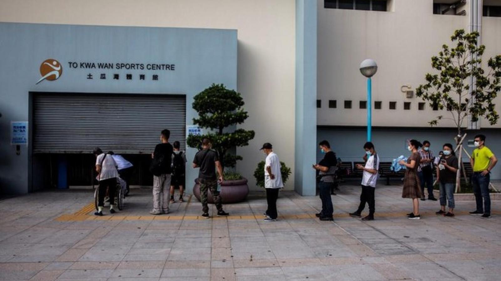Hồng Kông, Trung Quốc: 1,6 triệu dân đã tham gia xét nghiệm Covid-19