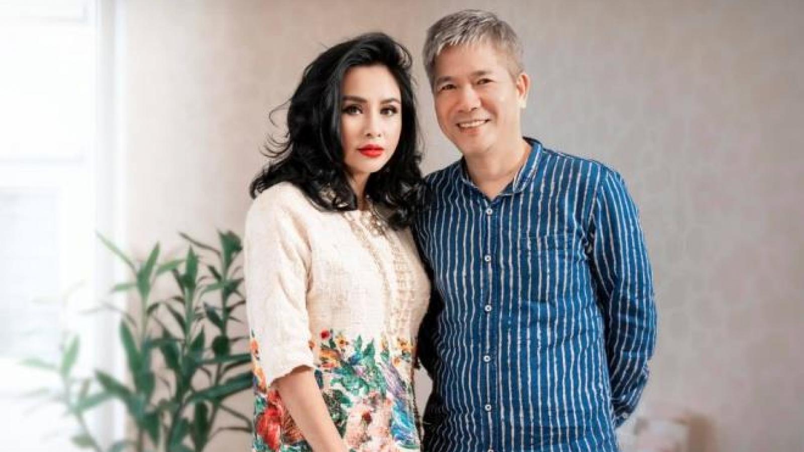 Diva Thanh Lam hạnh phúc bên bạn trai là bác sĩ nhãn khoa