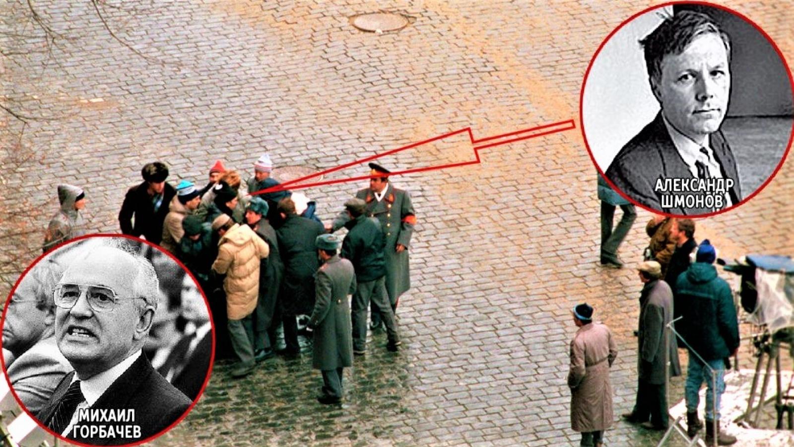 Nhà lãnh đạo Liên Xô Mikhail Gorbachev từng bị ám sát hụt 1990