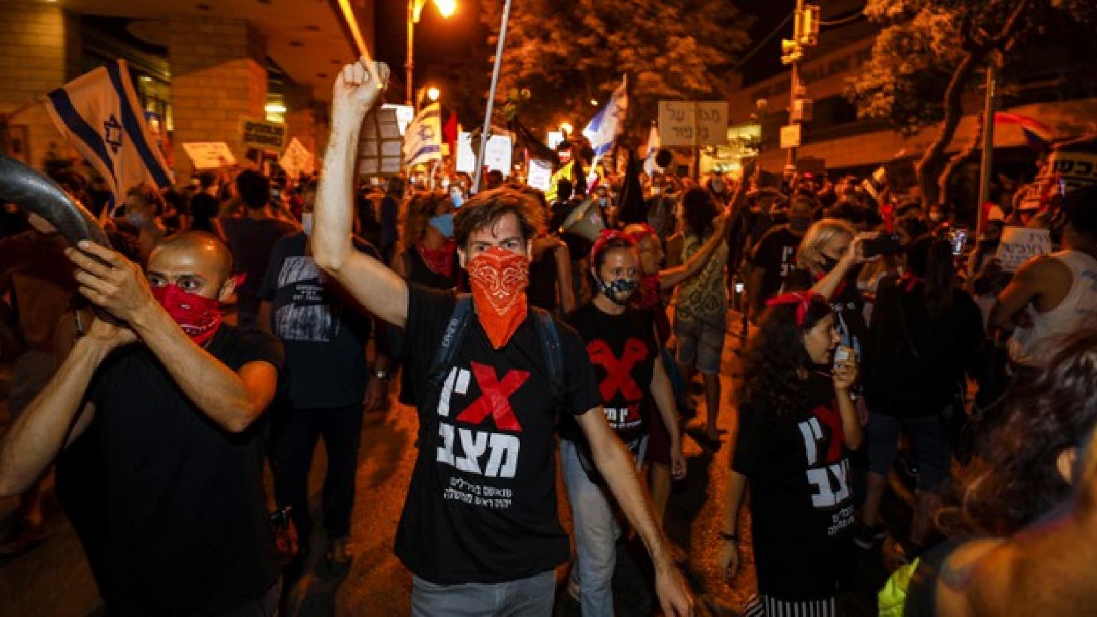 Biểu tình chống tham nhũng và phản đối cách xử lý Covid-19 ở Israel