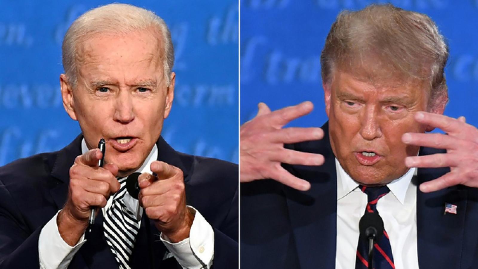 Dư luận về cuộc tranh luận đầu tiên giữa 2 ứng cử viên Tổng thống Mỹ