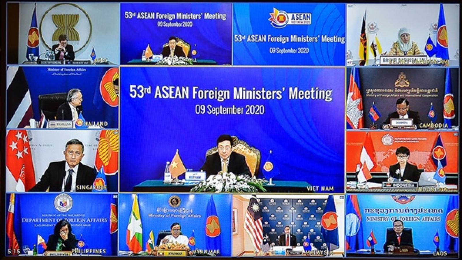 Dư luận khu vực và thế giới đưa đậm thông tin Hội nghị AMM 53
