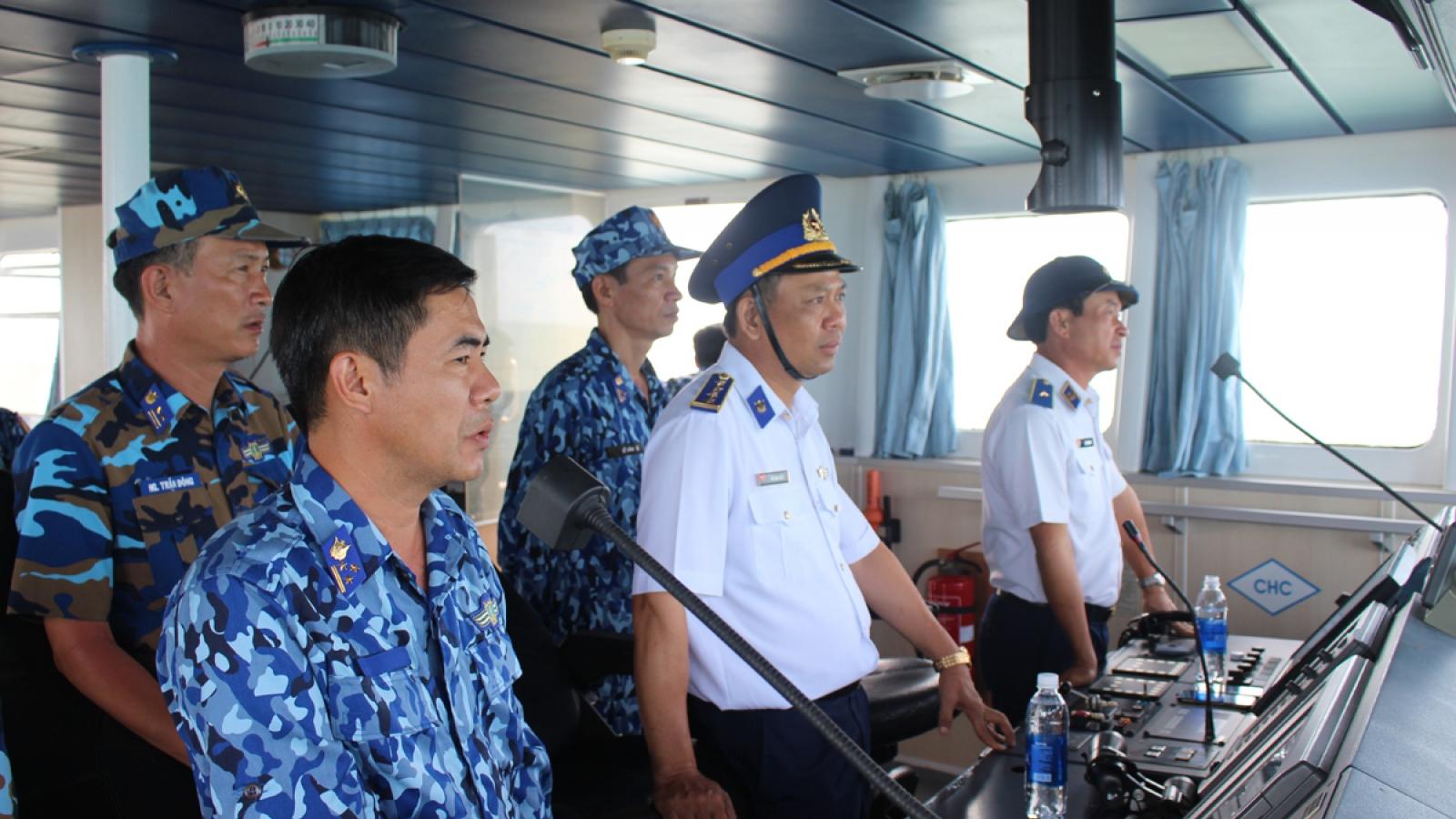 Vùng Cảnh sát biển 4 giữ vững an toàn an ninh vùng biển Tây Nam