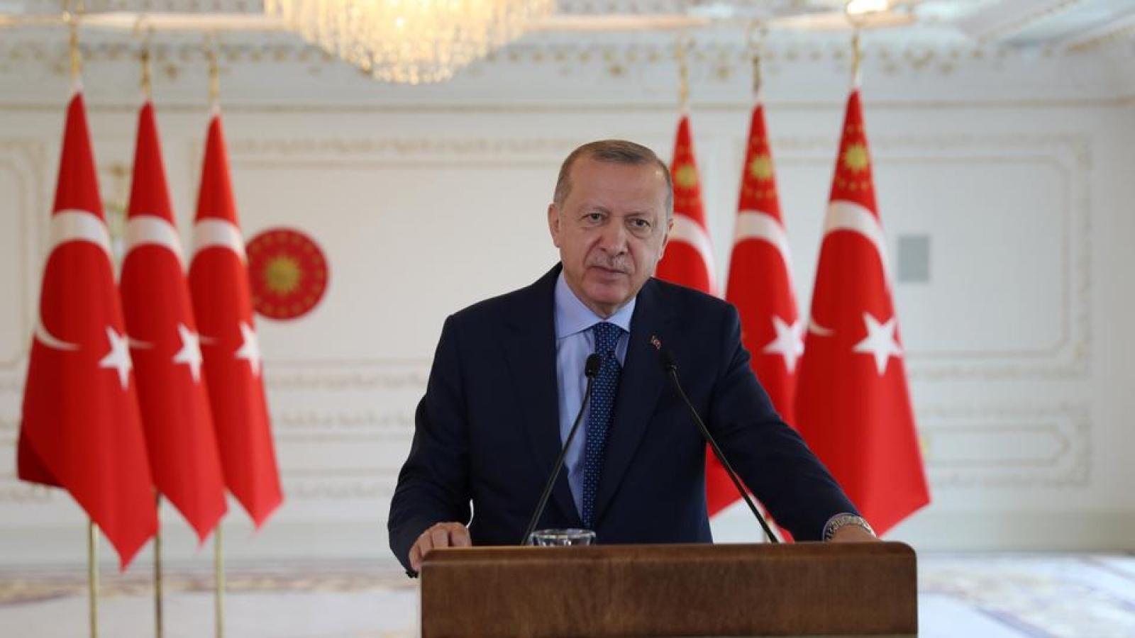 Thổ Nhĩ Kỳ tuyên bố sẵn sàng cho mọi khả năng tại Đông Địa Trung Hải