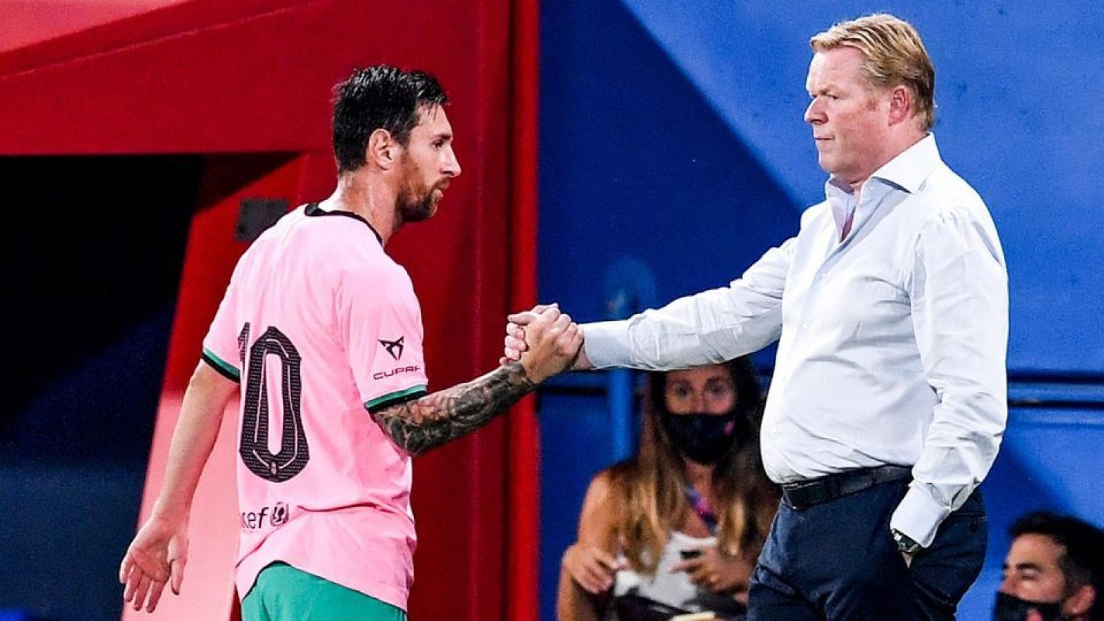 Sốc: HLV Koeman có thể chưa được chỉ đạo Barca
