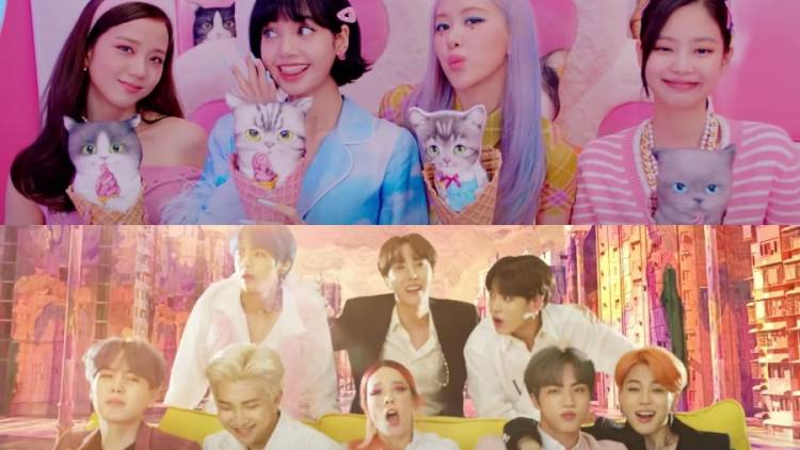 Điểm danh những màn kết hợp đình đám giữa thần tượng K-Pop và loạt sao quốc tế