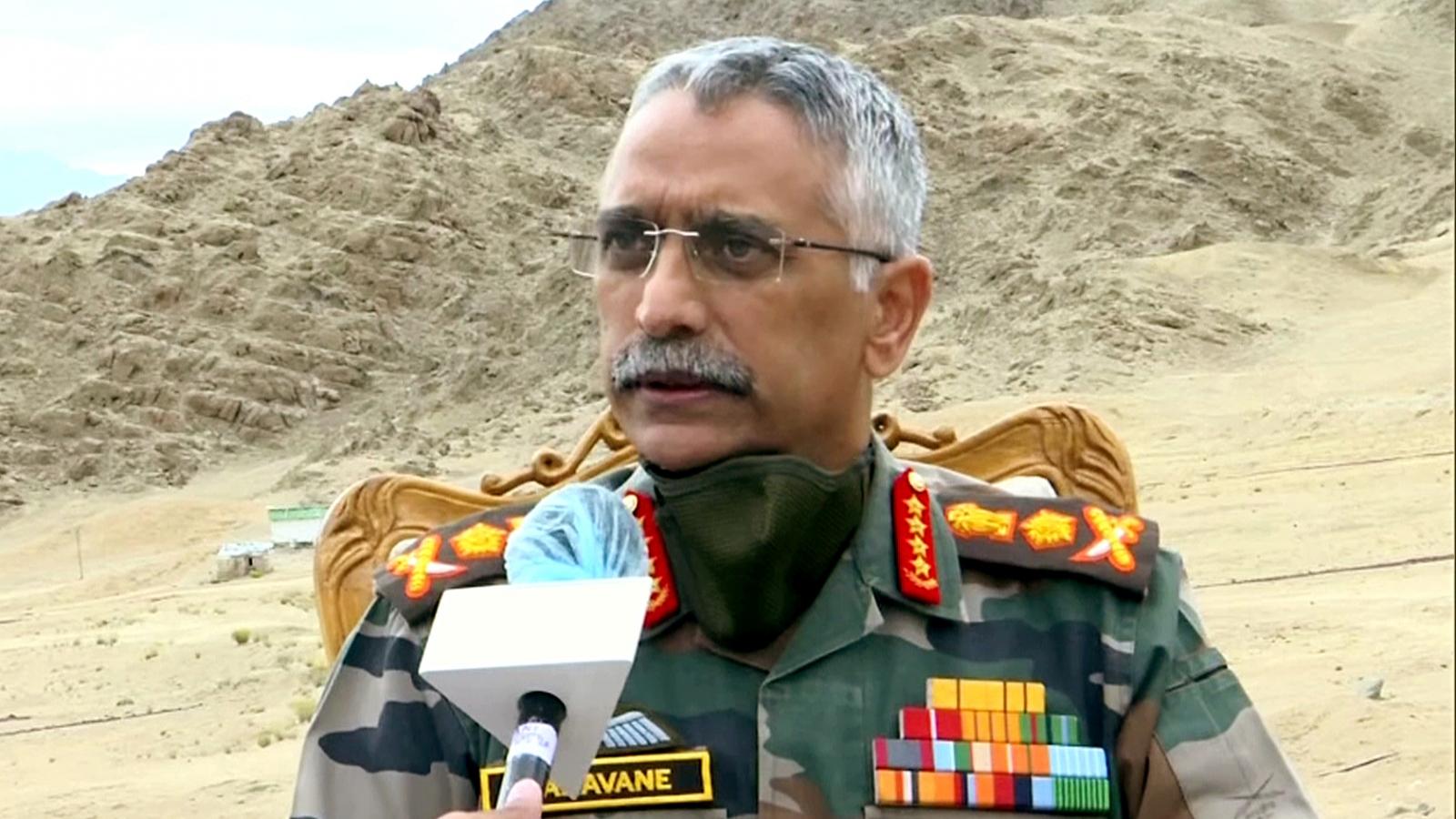 Tư lệnh Lục quân Ấn Độ: Tình hình biên giới Ấn - Trung đang căng thẳng