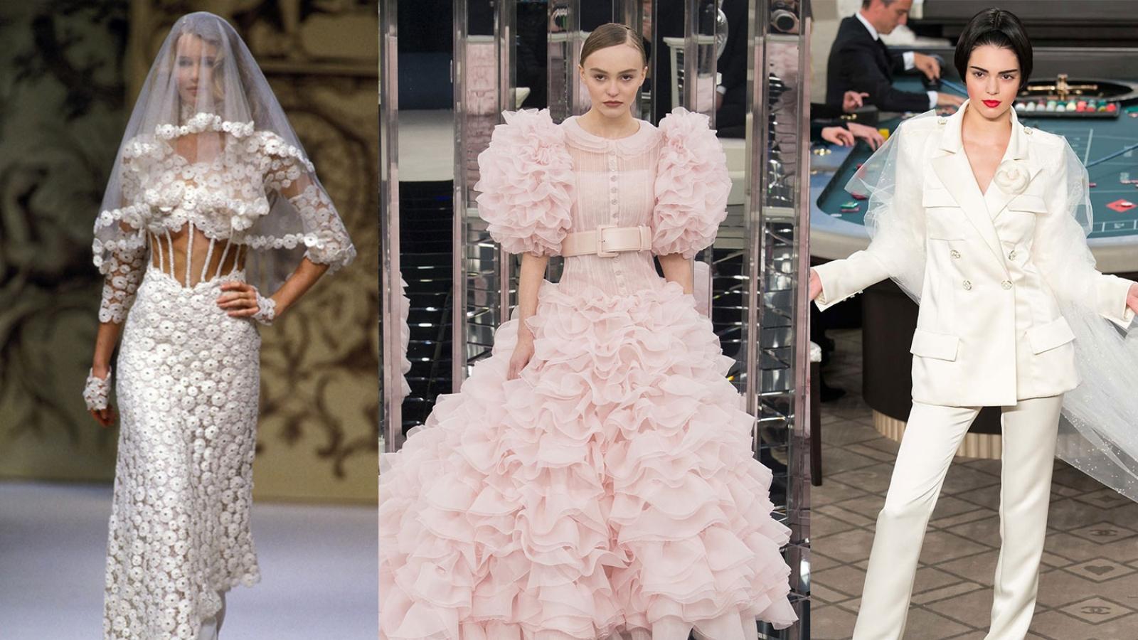 Chiêm ngưỡng những mẫu váy cưới đẹp nhất của nhà mốt Chanel