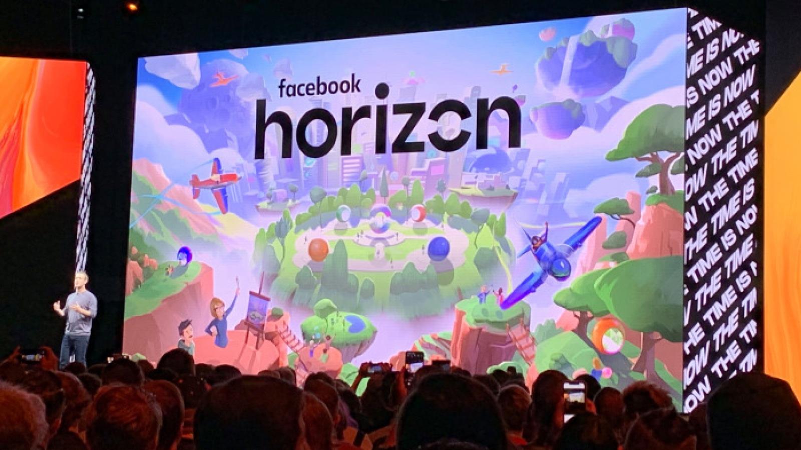 """Lo ngại Facebook Horizon có thể tạo ra """"phòng giam"""" trí óc"""