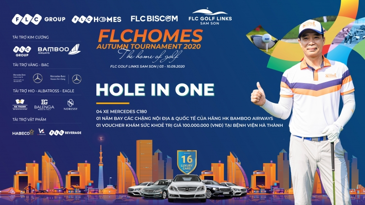 Golfer Nguyễn Thanh Anh ghi Hole in One, giật 4 xe sang tại FLCHomes Autumn Tournament 2020