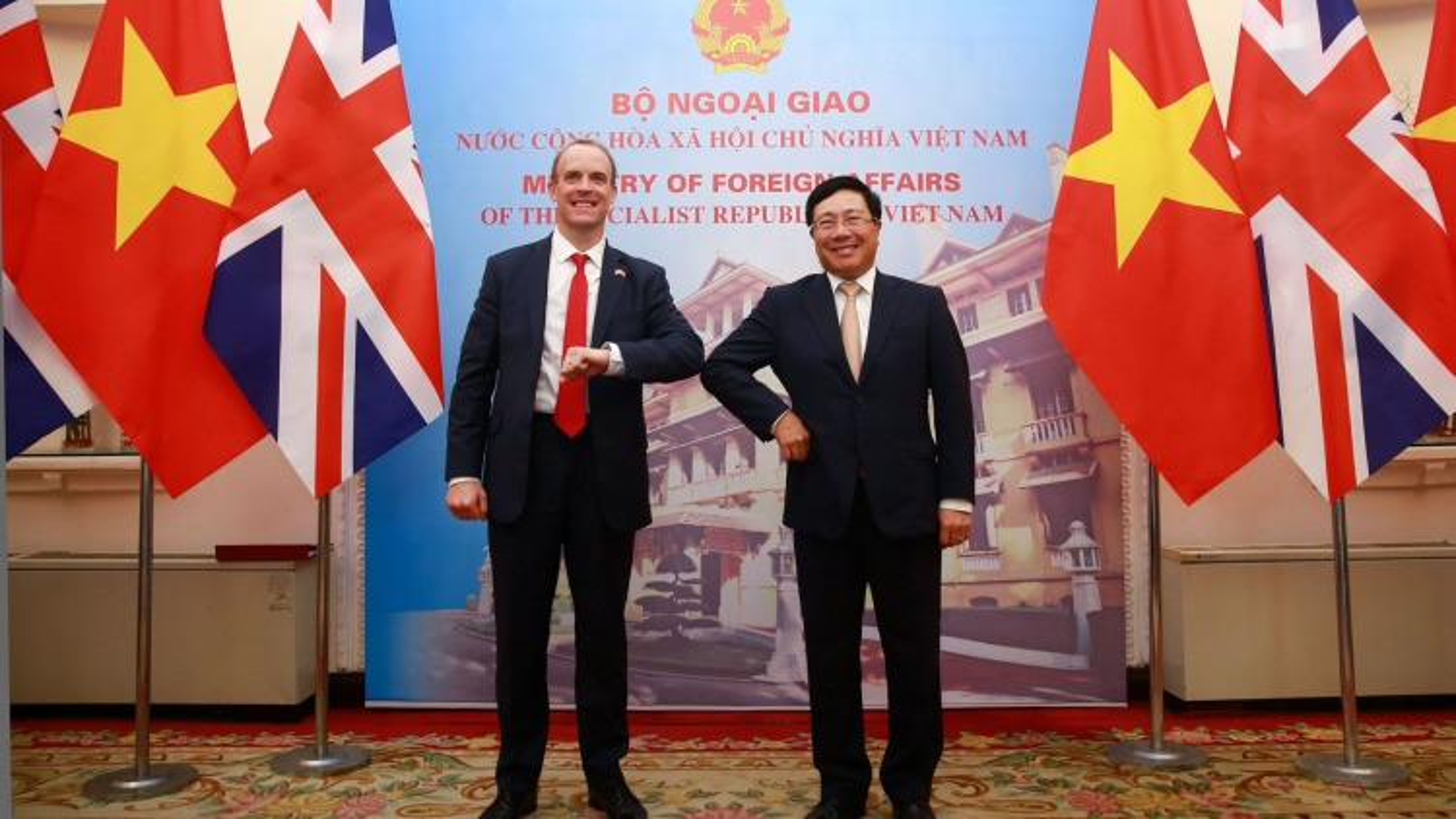 Anh mong muốn thúc đẩy quan hệ Đối tác chiến lược hiệu quả với Việt Nam