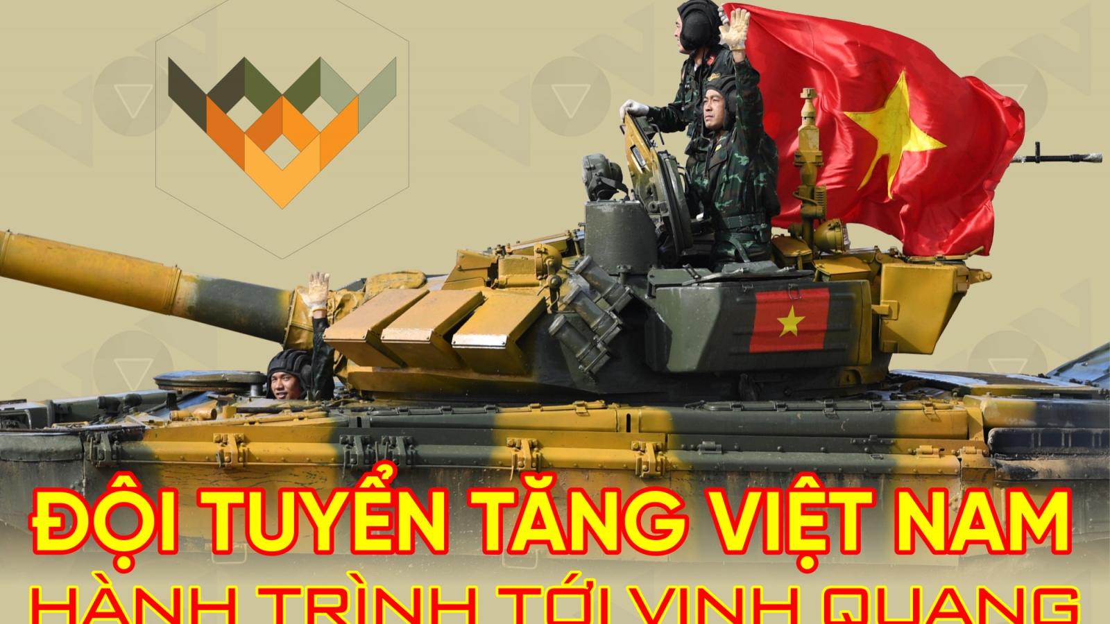 Hành trình tới vinh quang của đội tuyển xe tăng Việt Nam tại Army Games 2020