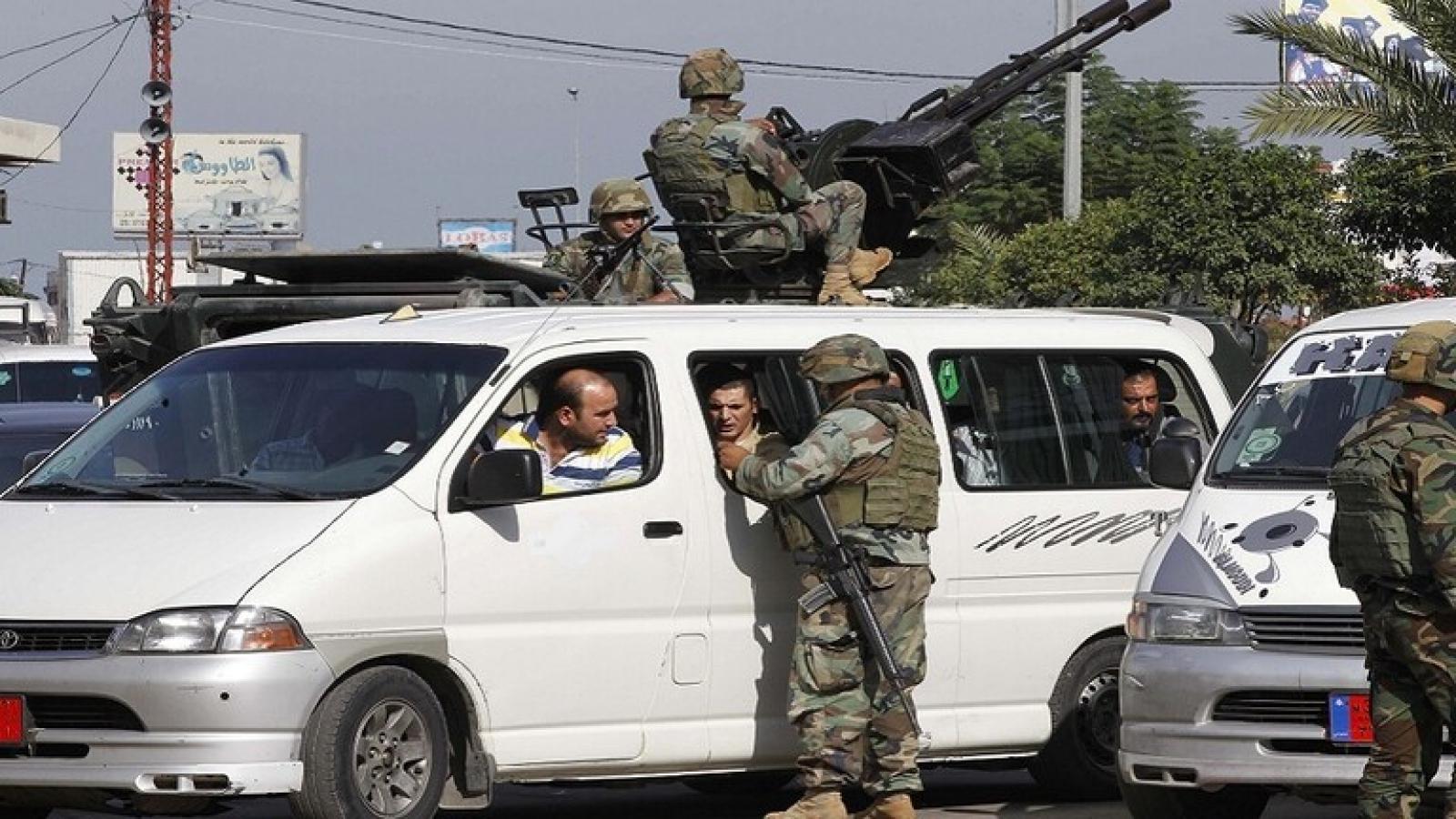 Phát hiện hàng chục thành viên IS, Lebanon mở chiến dịch tiêu diệt khủng bố