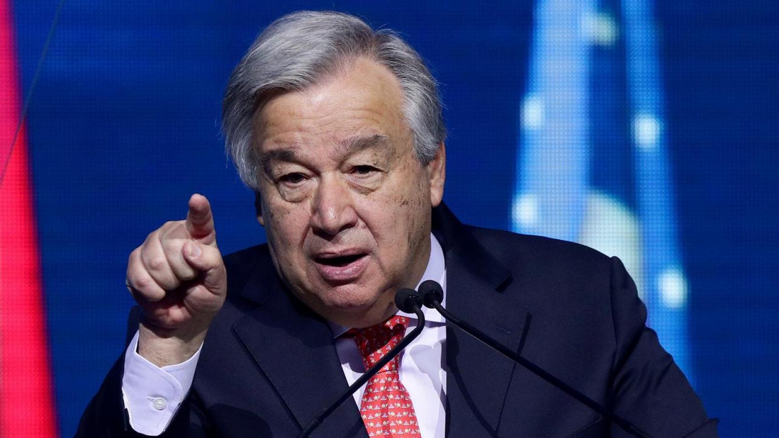 Tổng thư ký Liên Hợp Quốc: Covid-19 đang là mối đe dọa lớn nhất