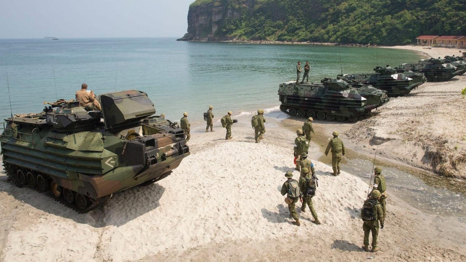 Vì sao Thủy quân lục chiến Mỹ nghĩ lại việc phân bố lực lượng ở châu Á?