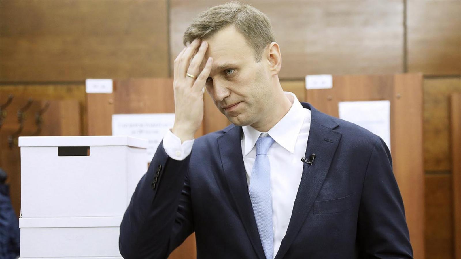 Tổng thống Putin cho rằng ông Navalny đã tự đầu độc