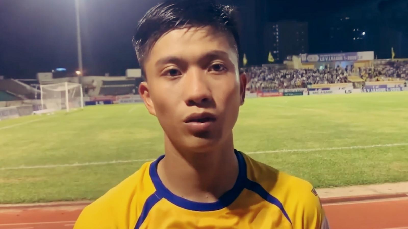 Phan Văn Đức tiết lộ mục tiêu của SLNA ở V-League 2020