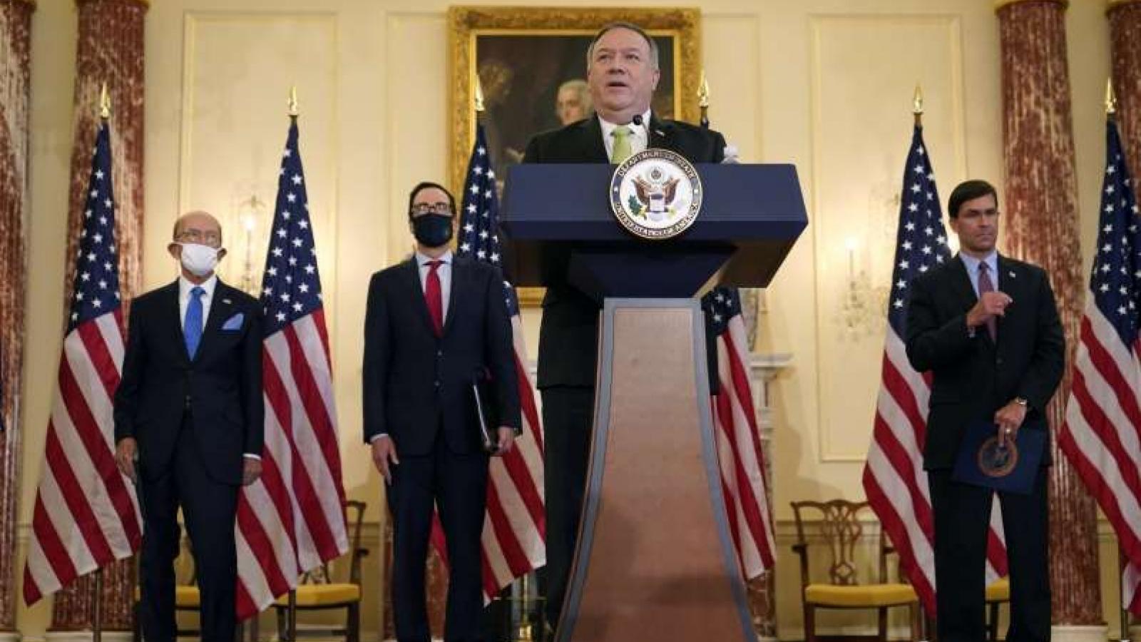 """Trung Quốc tung """"nước cờ hiểm"""", Mỹ tính kế hành động ở Trung Đông"""