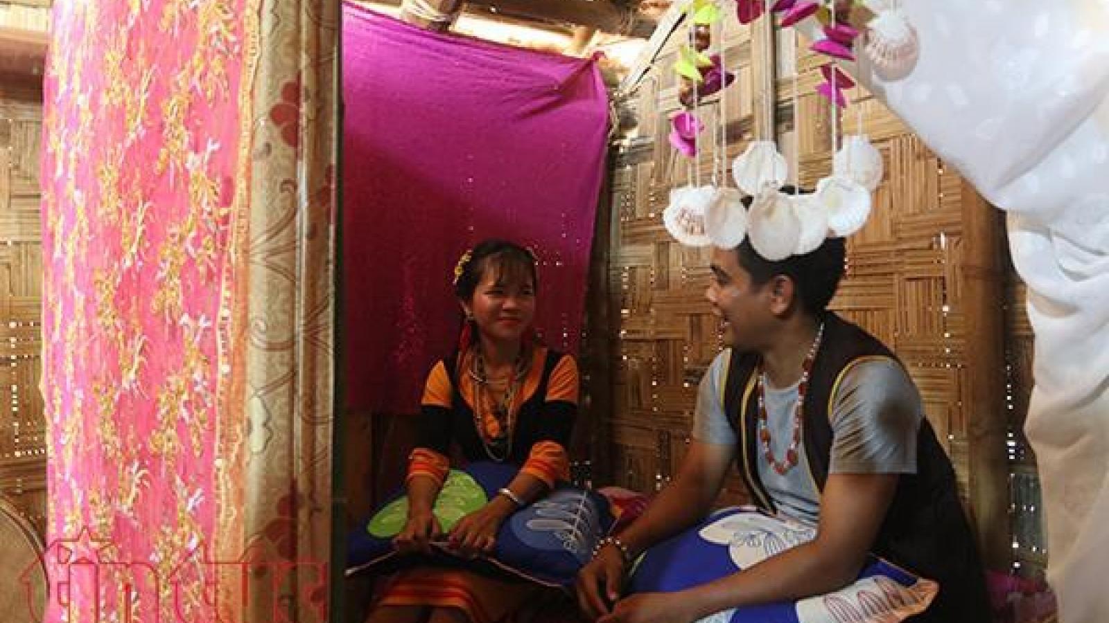 Unique marriage custom of the Raglai