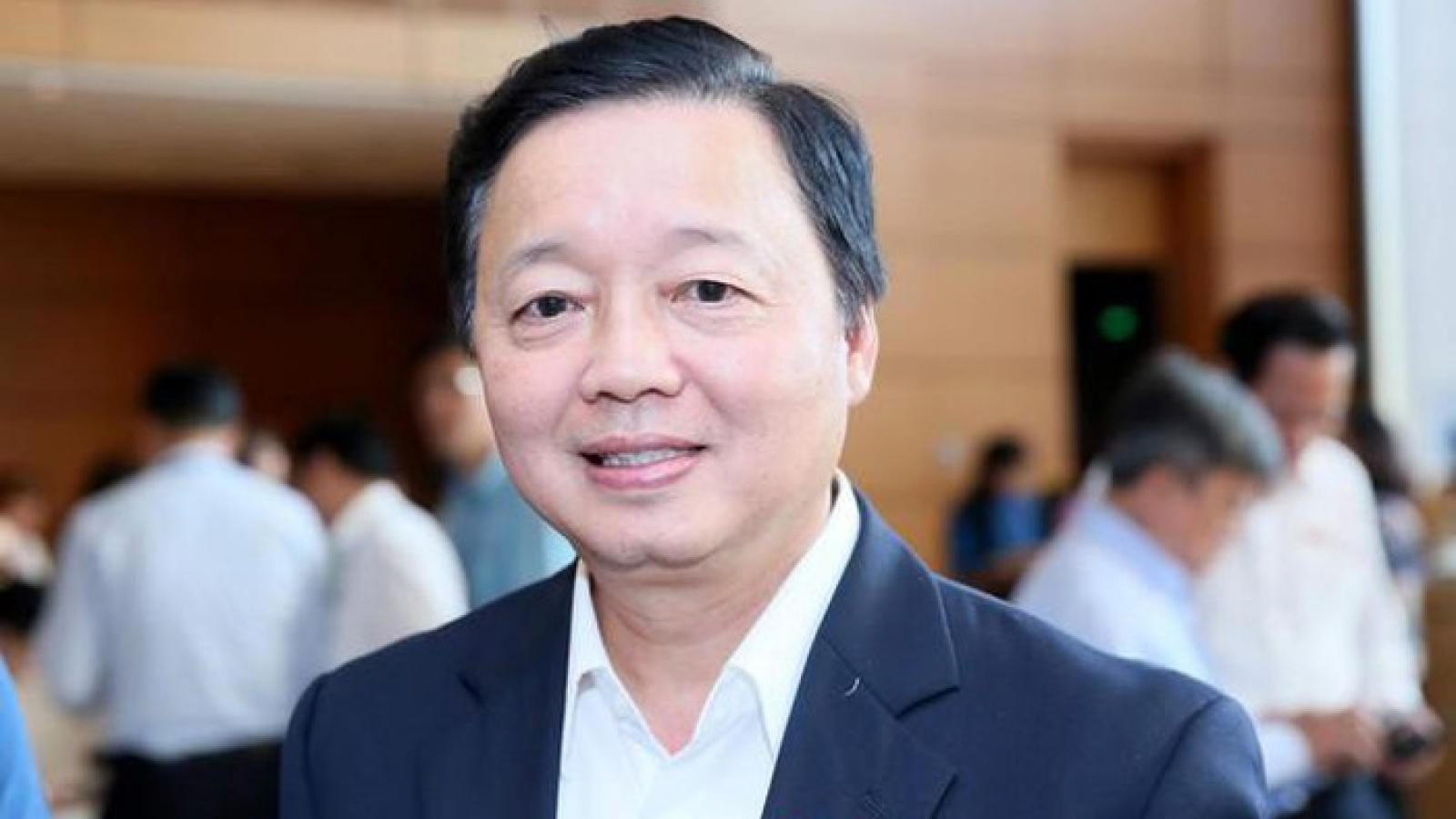 Bộ trưởng Trần Hồng Hà giải trình về đề xuất tích hợp 7 giấy phép thành 1