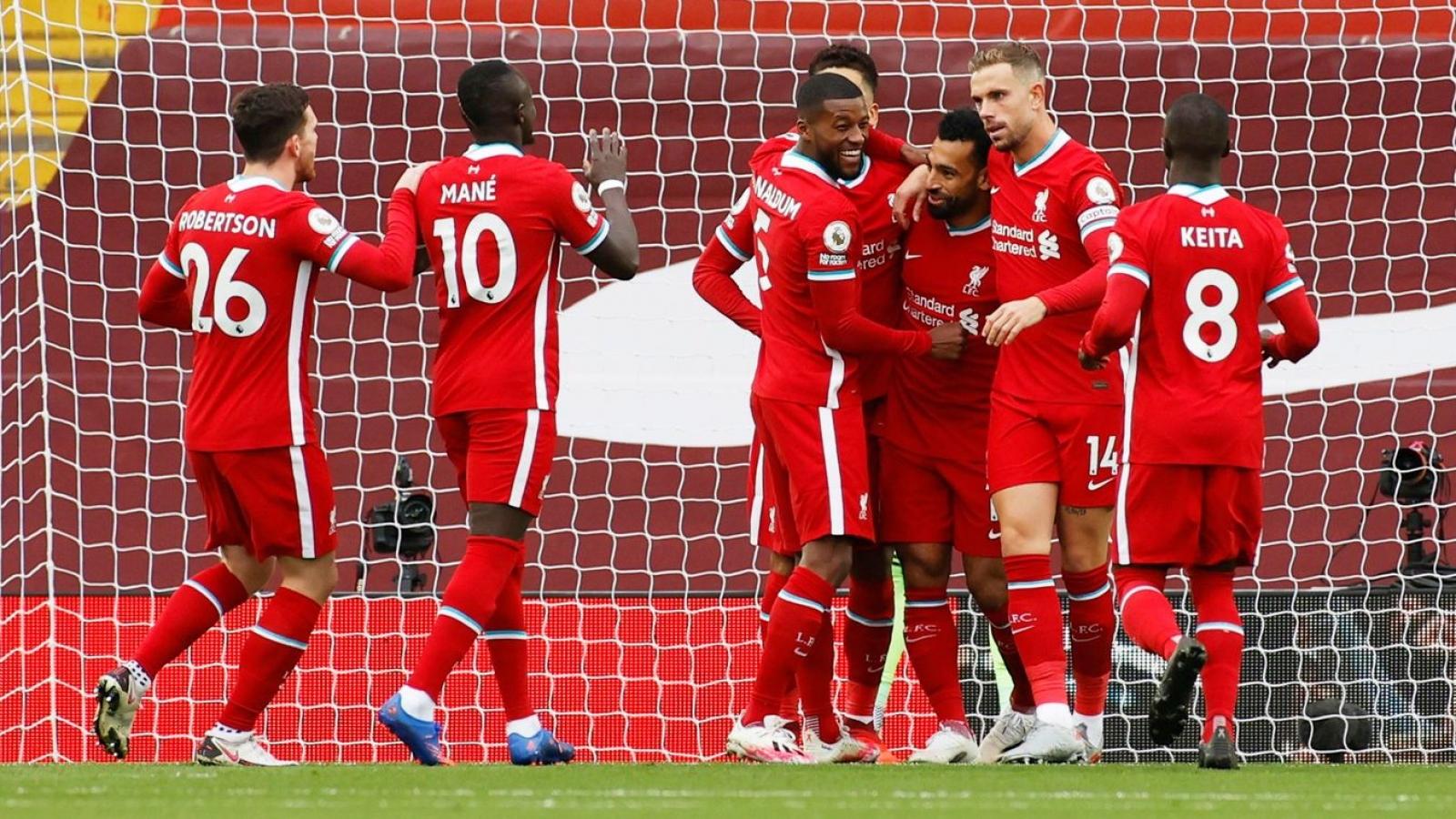 """Salah lập hat-trick, Liverpool thắng nghẹt thở tân binh Leeds trong trận cầu """"điên rồ"""""""