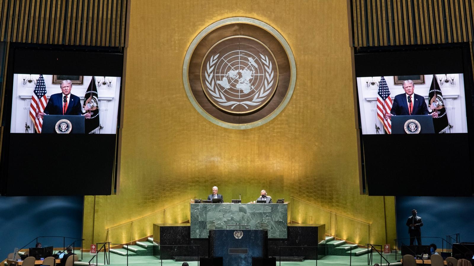 """Mỹ """"hứng"""" nhiều chỉ trích tại phiên họp Đại hội đồng Liên Hợp Quốc"""
