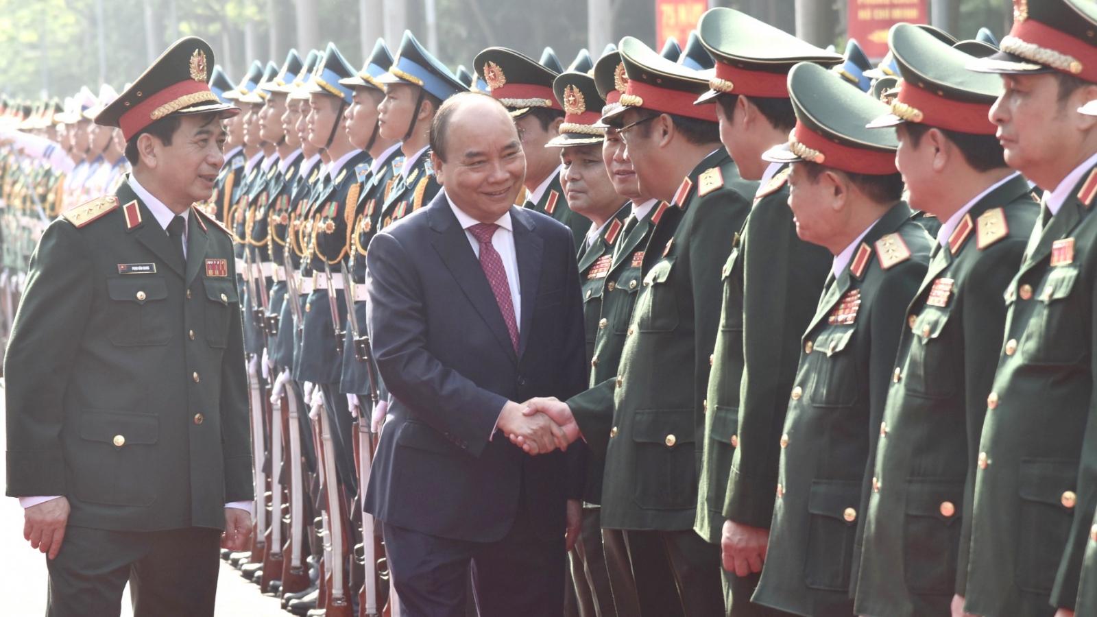 Thủ tướng: Chiến công của Bộ Tổng Tham mưu thể hiện đỉnh cao nghệ thuật quân sự