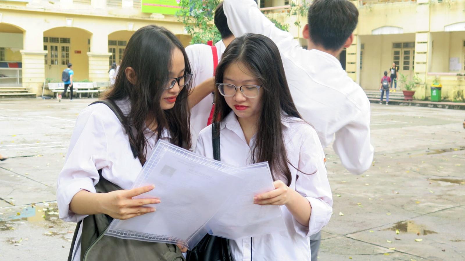 Giáo viên dự đoán phổ điểm môn tiếng Anh thi tốt nghiệp THPT đợt 2 từ 5-6