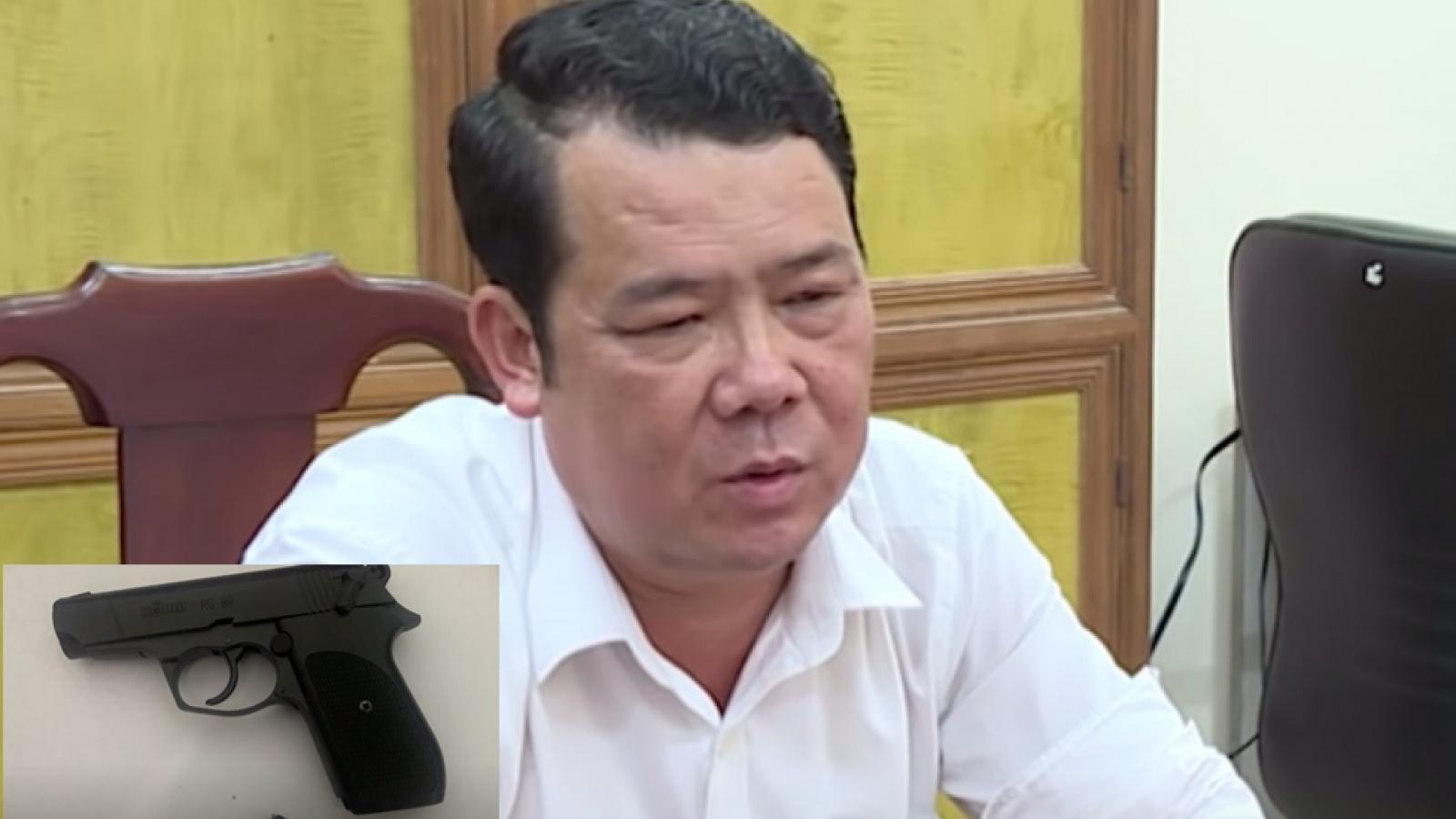 Nóng 24h: Khẩu súng của giám đốc dọa bắn người ở Bắc Ninh là loại gì?