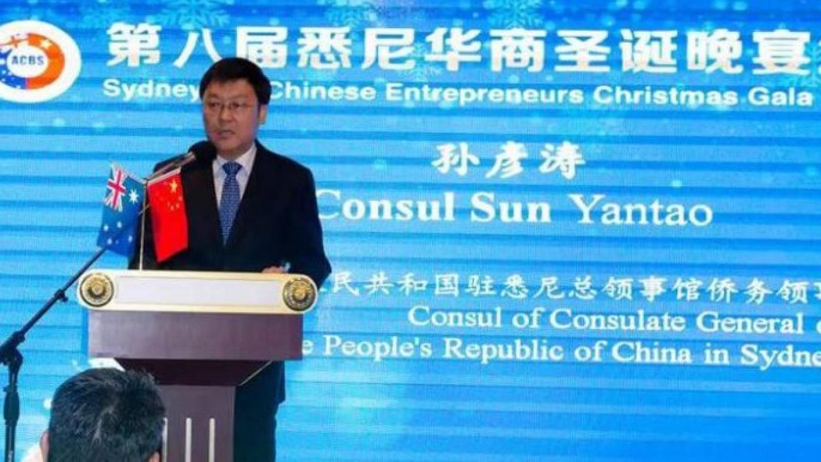 Australia điều tra Tổng lãnh sự Trung Quốc vì nghi ngờ can thiệp chính trị