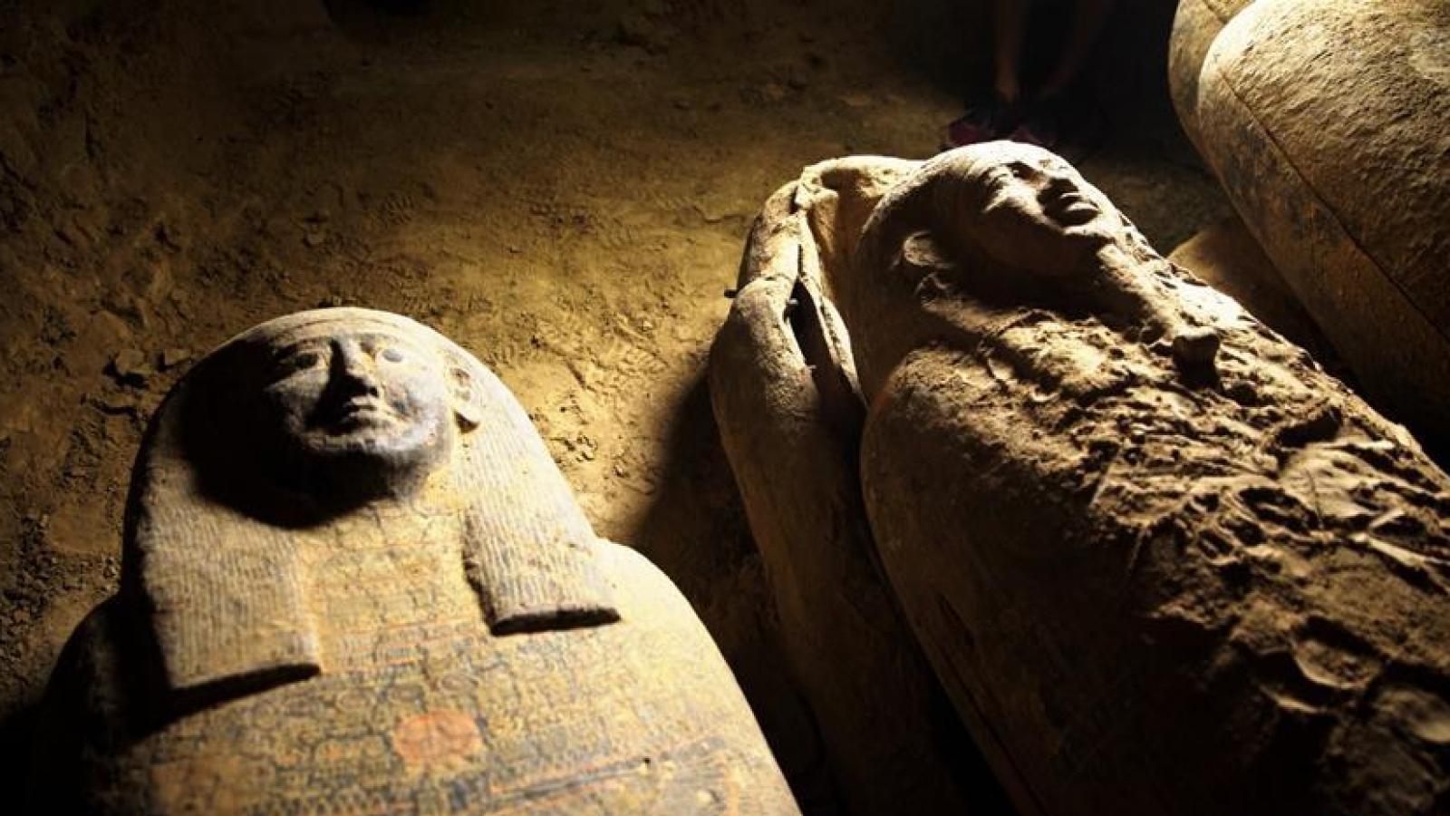 Ai Cập phát hiện quan tài nguyên vẹn 2.500 năm tuổi