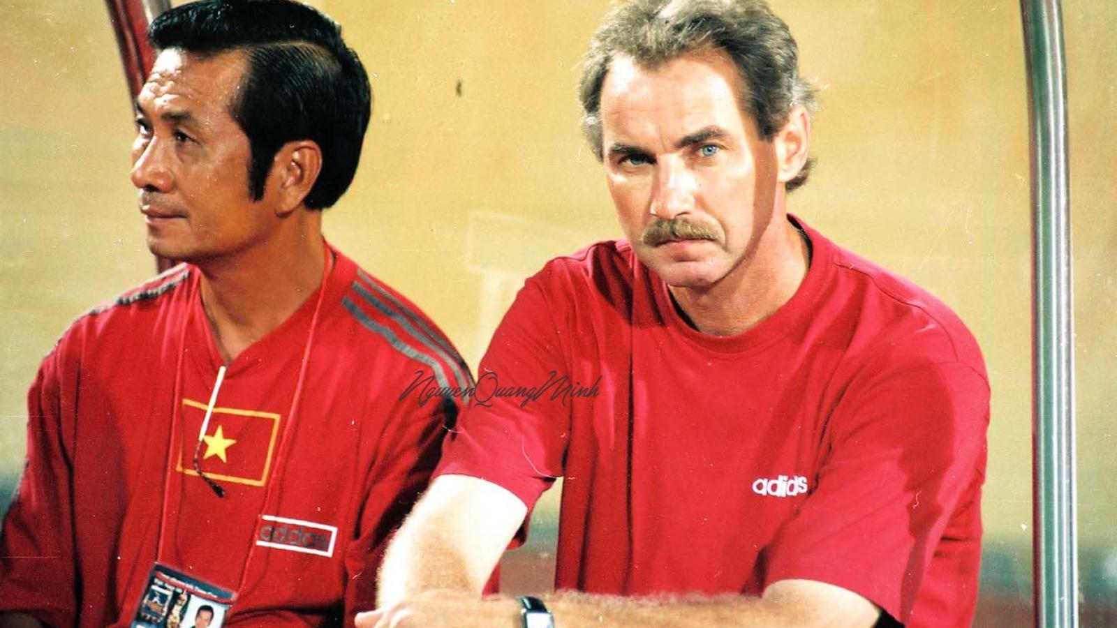 """HLV Mai Đức Chung: """"Ông Alfred Riedl đã khơi dậy niềm tự hào của bóng đá Việt Nam"""""""