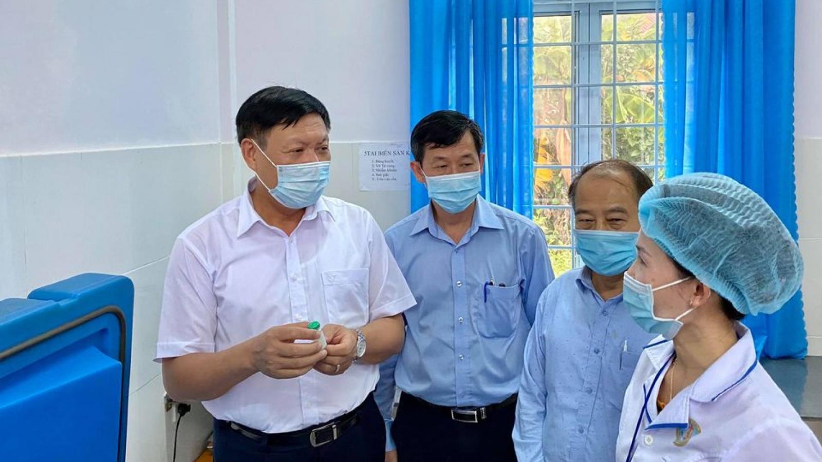 Thứ trưởng Bộ Y tế: Không lơ là để tránh tái bùng phát ổ dịch bạch hầu