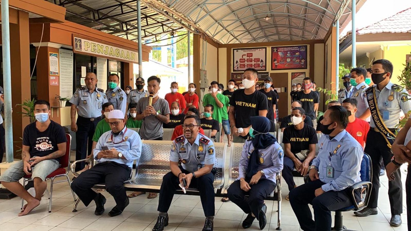 Đại sứ quán Việt Nam tại Indonesia bảo hộ ngư dân đang bị tạm giữ ở Pontianak