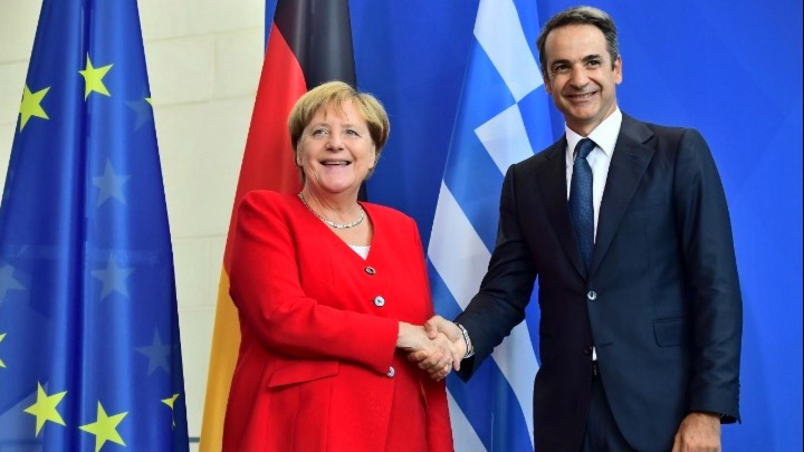 Thủ tướng Đức và Hy Lạp thảo luận về vấn đề Thổ Nhĩ Kỳ và khủng hoảng di cư