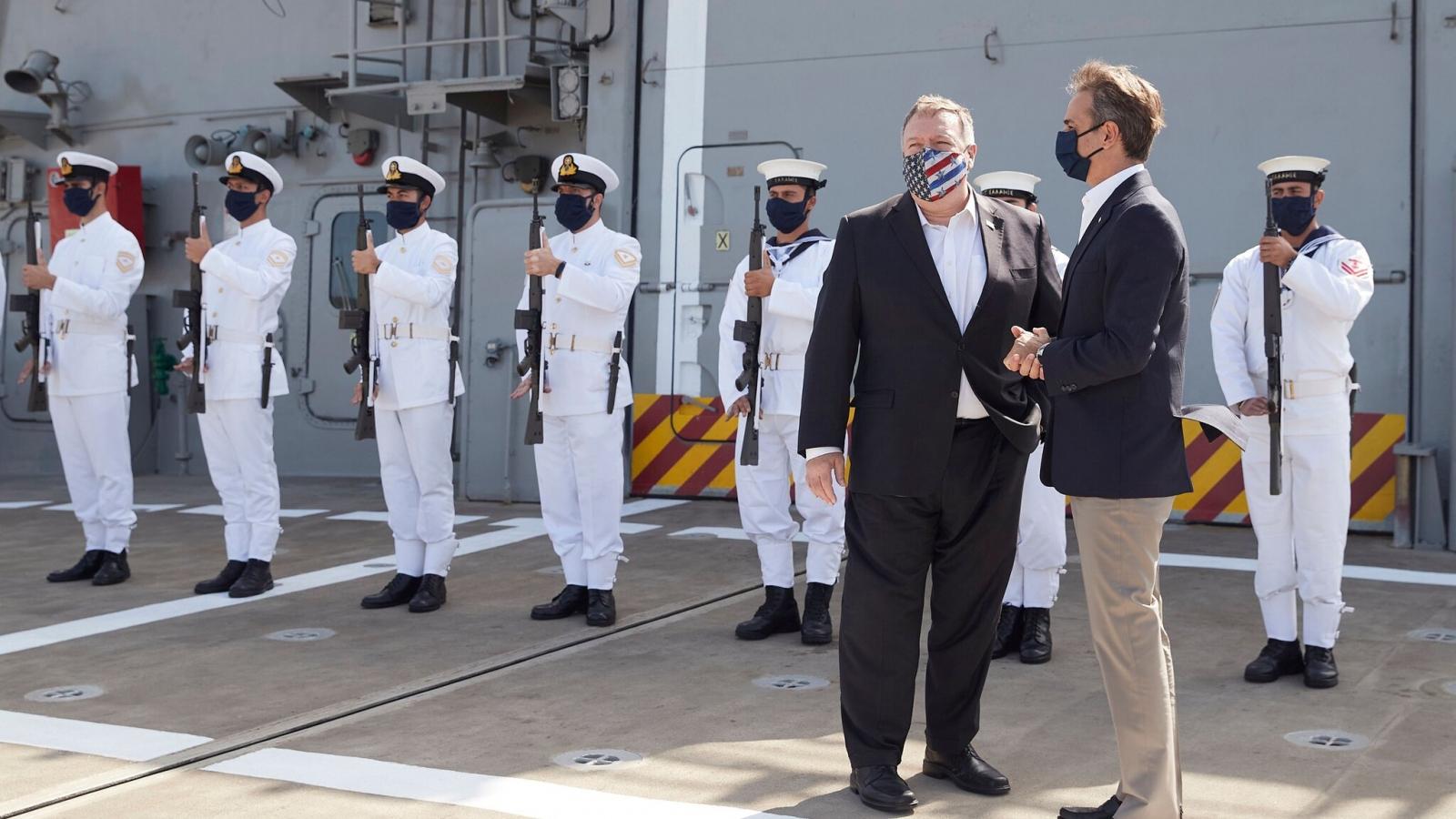 Mỹ ủng hộ Hy Lạp triển khai các cuộc đàm phán với Thổ Nhĩ Kỳ