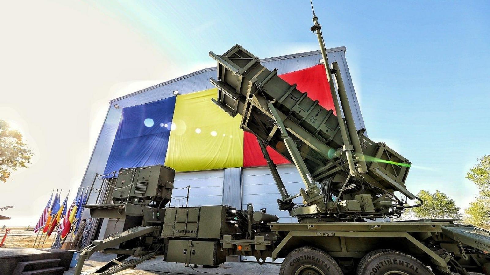 Hệ thống tên lửa đất đối không Patriot của Mỹ đã tới Rumani