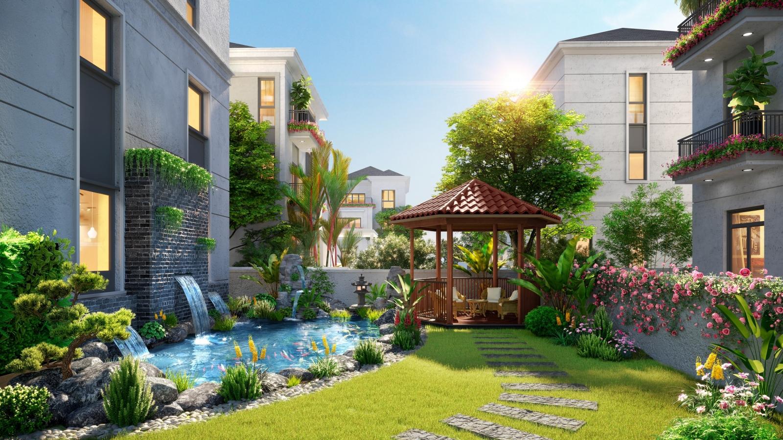 Chọn nhà phố vườn tại Aqua City để sống thư thái giữa đô thị tiện nghi