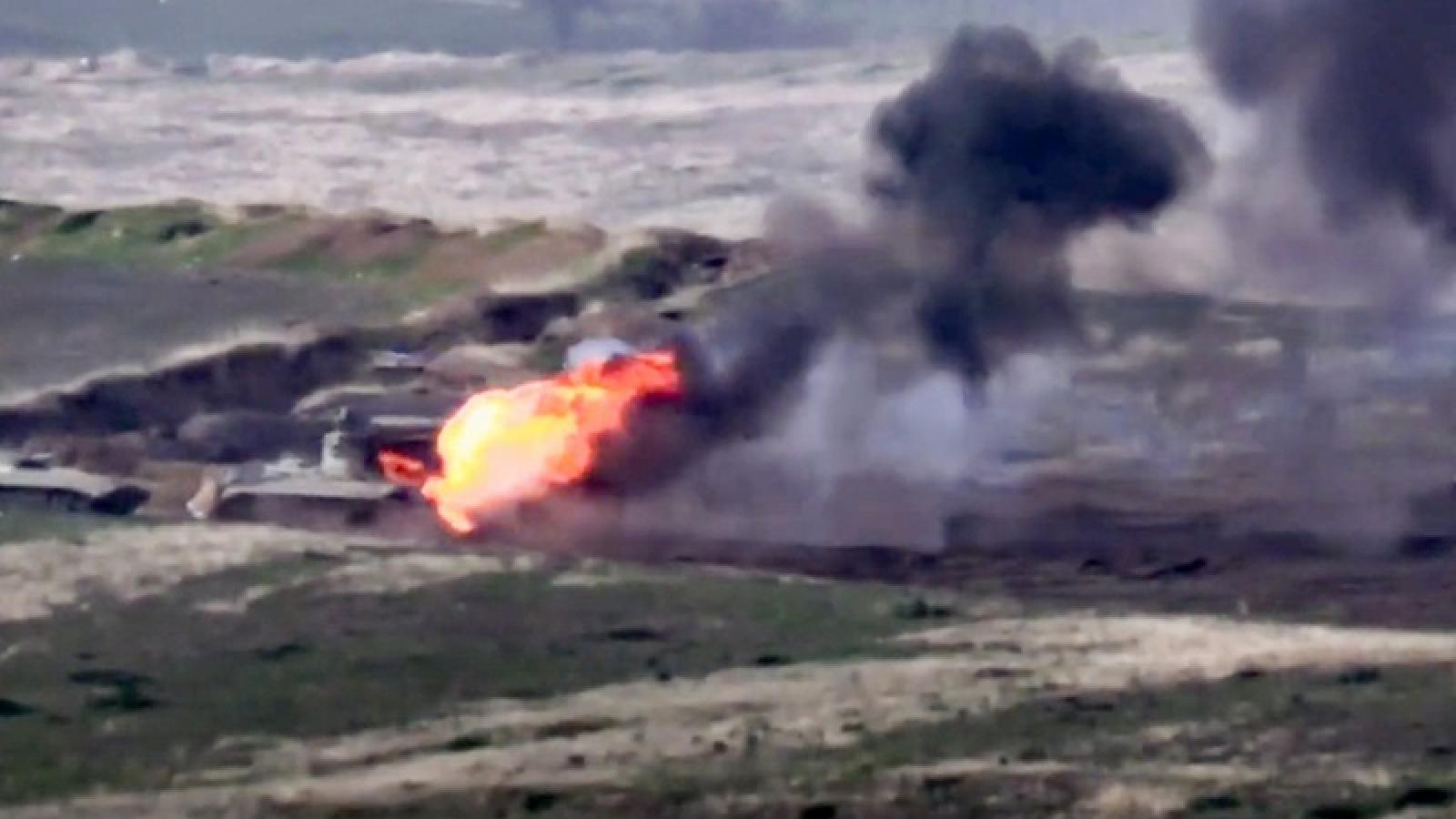 Azerbaijanphủ nhận việc Thổ Nhĩ Kỳ gửi máy bay chiến đấu từ Syria tới hỗ trợ