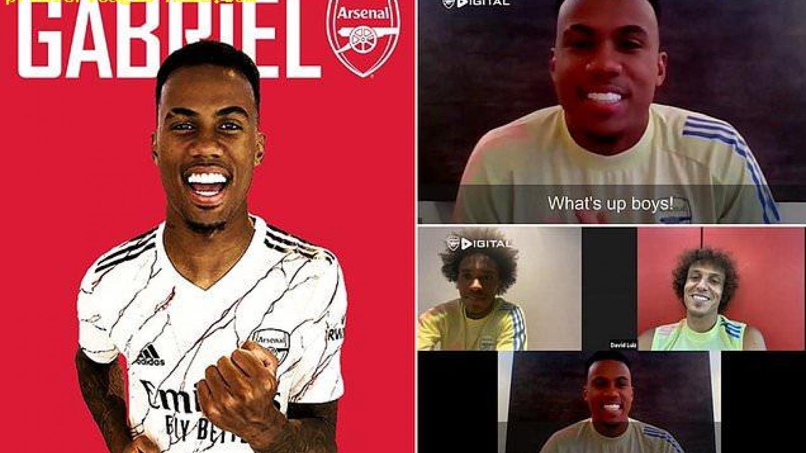 """Arsenal công bố """"bom tấn"""" Gabriel Magalhaes theo cách không ai ngờ tới"""